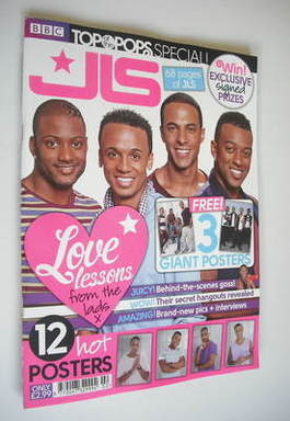 <!--2011-11-->Top Of The Pops magazine - JLS cover (November 2011 - Special
