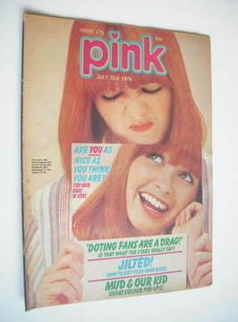 Pink magazine - 31 July 1976