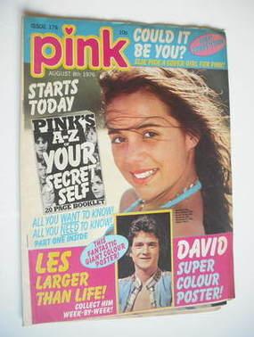 Pink magazine - 8 August 1976