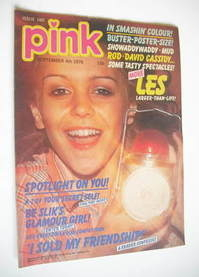 Pink magazine - 4 September 1976 - Leslie Ash cover
