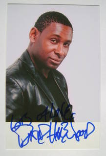David Harewood autograph (hand-signed photograph)