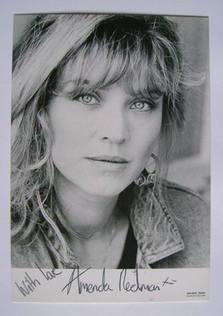 Amanda Redman autograph (hand-signed photograph)