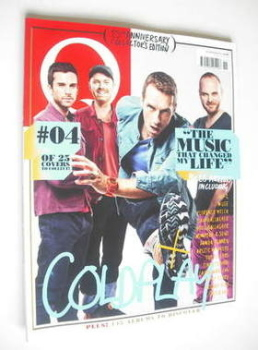 Q magazine - Coldplay cover (November 2011)