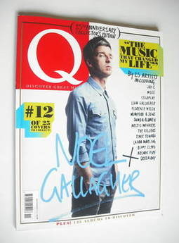 Q magazine - Noel Gallagher cover (November 2011)
