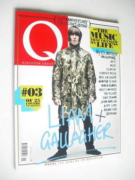 <!--2011-11-->Q magazine - Liam Gallagher cover (November 2011)