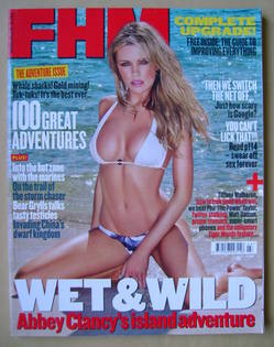<!--2010-03-->FHM magazine - Abbey Clancy cover (March 2010)