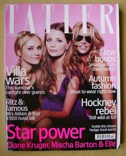 <!--2006-10-->Tatler magazine - October 2006 - Diane Kruger, Mischa Baron a