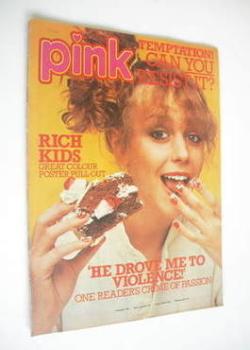 Pink magazine - 8 April 1978 - Leslie Ash cover