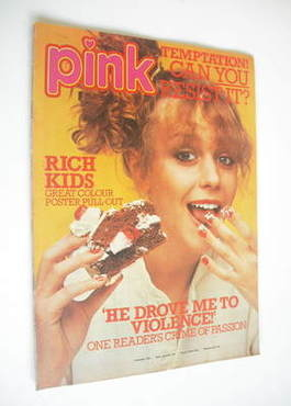 Pink magazine - 8 April 1978 - Leslie Ash cover