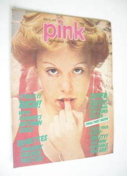 Pink magazine - 13 September 1975