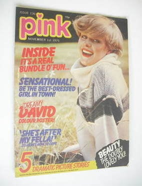 Pink magazine - 1 November 1975