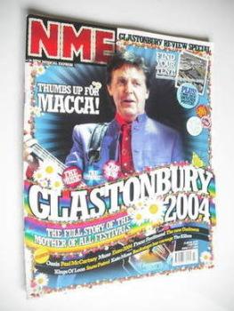 NME magazine - Paul McCartney cover (3 July 2004)