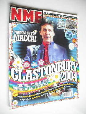 <!--2004-07-03-->NME magazine - Paul McCartney cover (3 July 2004)