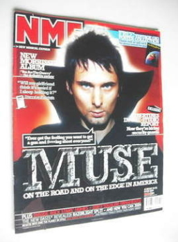 NME magazine - Muse cover (8 May 2004)