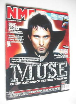 <!--2004-05-08-->NME magazine - Muse cover (8 May 2004)