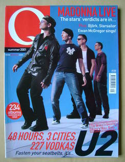 <!--2001-08-->Q magazine - U2 cover (Summer 2001)