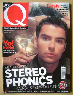 <!--2001-11-->Q magazine - Kelly Jones cover (November 2001)