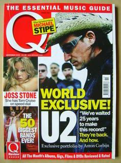 <!--2004-11-->Q magazine - U2 cover (November 2004)