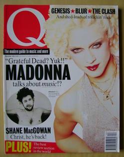 Q magazine - Madonna cover (December 1994)