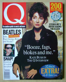 Q magazine - Kate Bush cover (December 1993)
