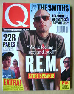 Q magazine - Michael Stipe cover (October 1994)