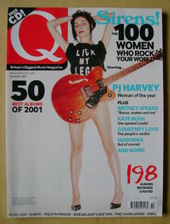 <!--2001-12-->Q magazine - PJ Harvey cover (December 2001)