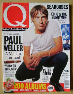 Q magazine - Paul Weller cover (August 1997)