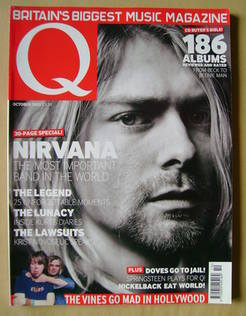 <!--2002-10-->Q magazine - Kurt Cobain cover (October 2002)