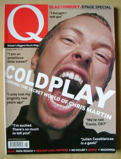 <!--2002-08-->Q magazine - Chris Martin cover (August 2002)