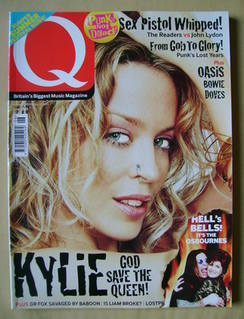 Q magazine - Kylie Minogue cover (June 2002)