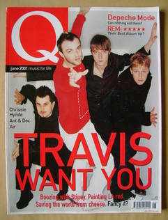<!--2001-06-->Q magazine - Travis cover (June 2001)
