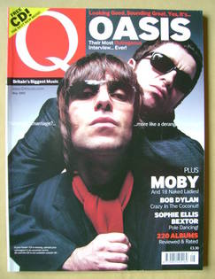 <!--2002-05-->Q magazine - Liam Gallagher and Noel Gallagher cover (May 200