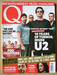 <!--2002-11-->Q magazine - U2 cover (November 2002)