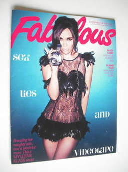 <!--2011-10-22-->Fabulous magazine - Myleene Klass cover (22 October 2011)