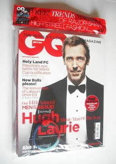 <!--2011-10-->British GQ magazine - October 2011 - Hugh Laurie cover