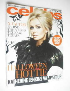 Celebs magazine - Katherine Jenkins cover (30 October 2011)