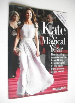 Kate Middleton A Magical Year - The Mail On Sunday supplement (October 2011)