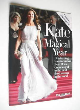Kate Middleton A Magical Year - The Mail On Sunday supplement (October 2011