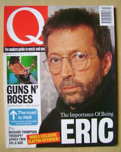 Q magazine - Eric Clapton cover (March 1994)