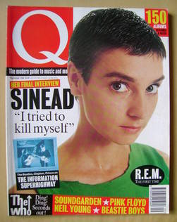 Q magazine - Sinead O'Connor cover (September 1994)
