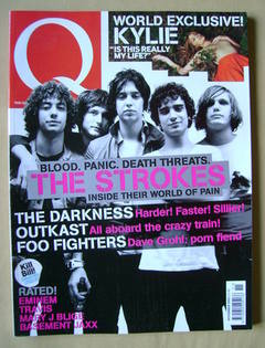<!--2003-11-->Q magazine - The Strokes cover (November 2003)