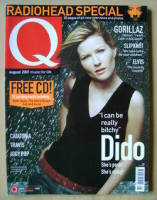 <!--2001-08-->Q magazine - Dido cover (August 2001)