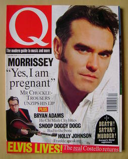 Q magazine - Morrissey cover (April 1994)