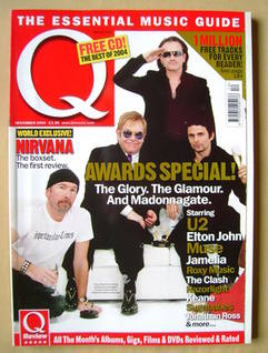 <!--2004-12-->Q magazine - Awards Special cover (December 2004)