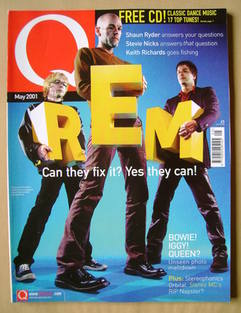 Q magazine - REM cover (May 2001)