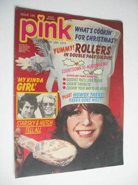 Pink magazine - 18 December 1976 - Leslie Ash cover