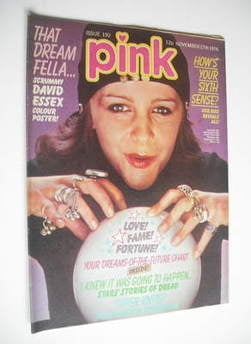 Pink magazine - 27 November 1976 - Leslie Ash cover