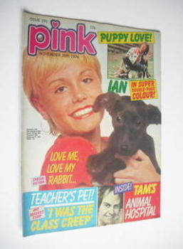 Pink magazine - 20 November 1976