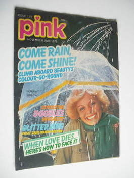 Pink magazine - 22 November 1975