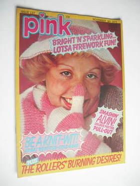 Pink magazine - 8 November 1975